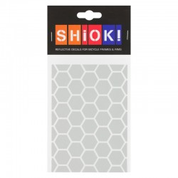 SHIOK! Reflektor-Folienset Honeycomb weiss