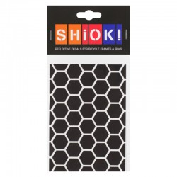 SHIOK! Reflektor-Folienset Honeycomb schwarz